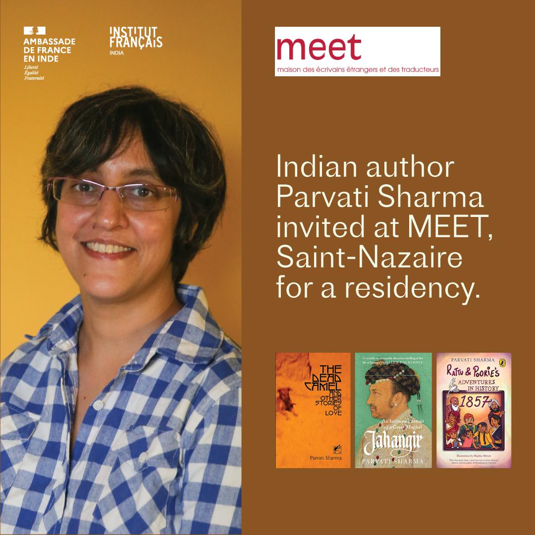 Parvati Sharma invited at MEET